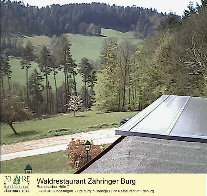 Webcam Restaurant Freiburg Zähringer Burg